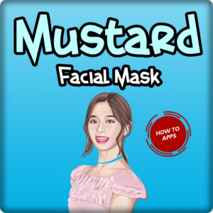 How To Make Mustard Facial Mask Icon