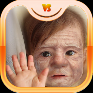 Make Me Old App: Face Aging Effect Photo Editor Icon