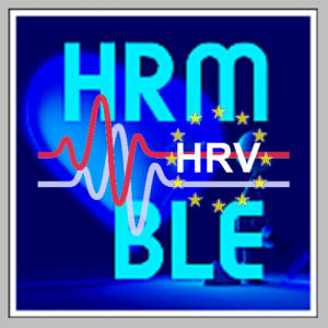 BLE Heart Rate & HRV:  Monitoring and Recorder Icon