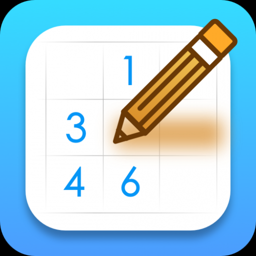 Sudoku - a relaxing brain training game Icon