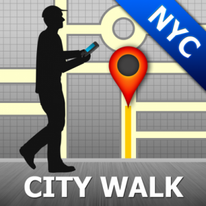 New York City Map and Walks Icon