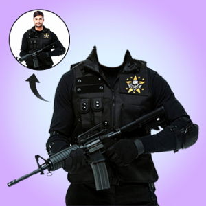 New Army Photo Suit Free Editor Icon