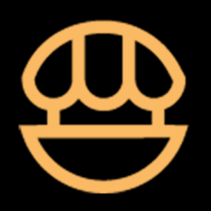 Food Market Hub (Branch) Icon