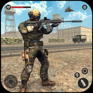 Counter Terrorist FPS Army Shooting Icon