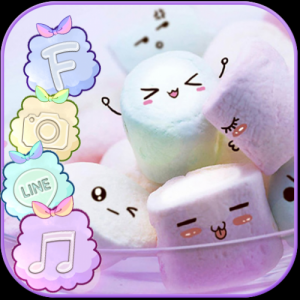 Marshmallow Candy Theme Icon Pack Icon