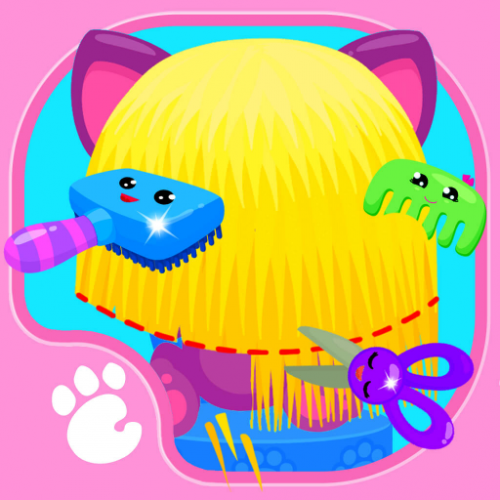 Cute & Tiny Hair Salon - Baby Pets Get Makeovers Icon