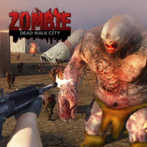 Dead Walk City : Zombie Shooting Game Icon