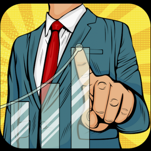 Business Founder - Startup Manager Game Icon