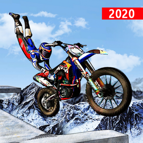 Impossible Ramp Bike Stunt Tricks Racing 3D Icon