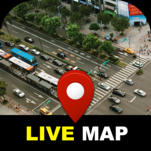Street View Live Map 2020 - Satellite World Map Icon