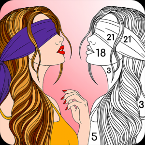 Color By Number For Adults Icon