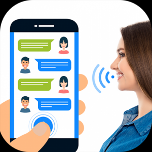 Write SMS by voice: Voice SMS, Voice Translator Icon
