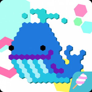 HexaParty - Pixel art coloring book for kids Icon