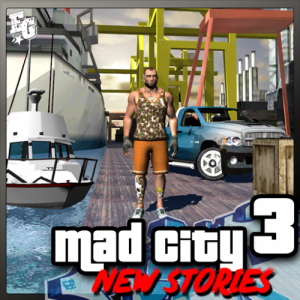 Mad City Crime 3 New stories Icon