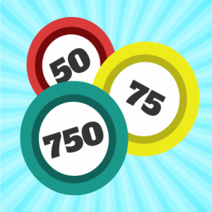 Roulette and card are free for the game-BINGOOL750 Icon