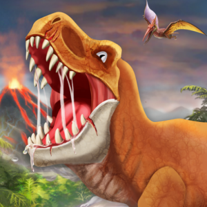 DINO WORLD - Jurassic dinosaur game Icon