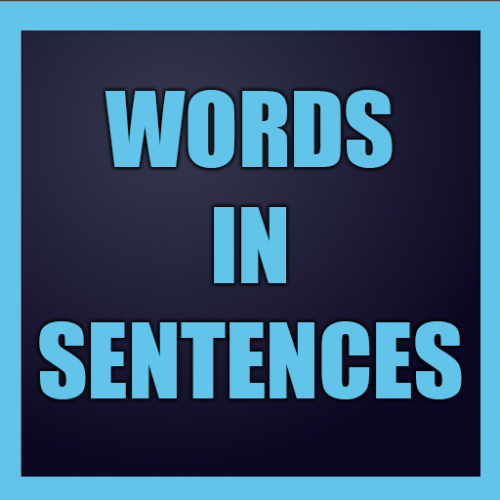 Word in Sentences: Learn English Icon
