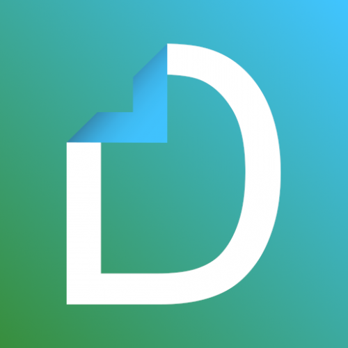 Docutain - Scan, manage documents, OCR, PDF, QR Icon