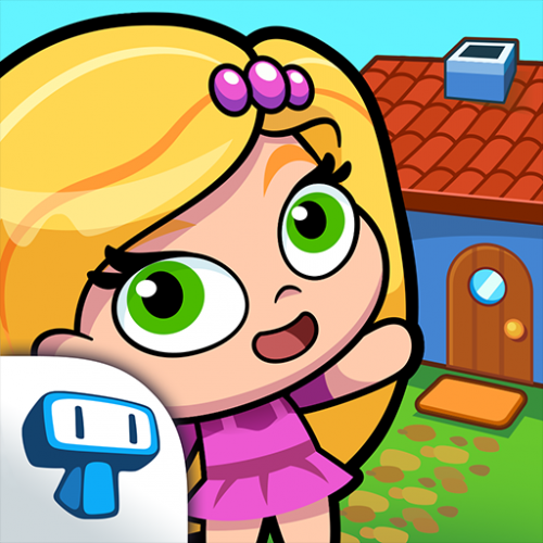 My Girl's Town - Design and Decorate Cute Houses Icon