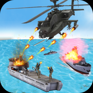 Helicopter Strike Gunship War: 3d Helicopter Games Icon