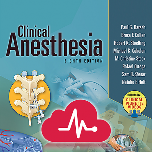 Clinical Anesthesia full,  Edition 8 Icon